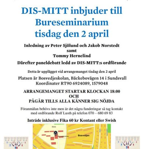 Bureseminarium i Sundsvall